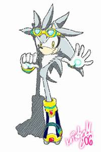 Silver the H. - Sonic Riders by kukalive on DeviantArt