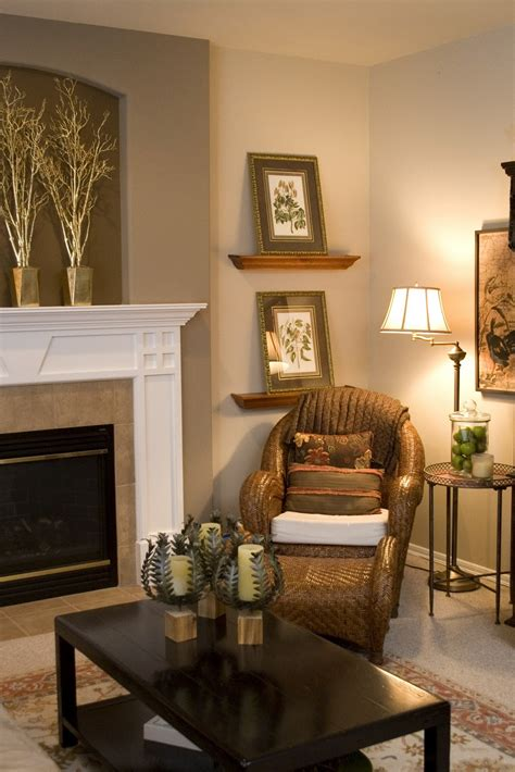 Decorating Ideas Next To Fireplace by From The World Before And After