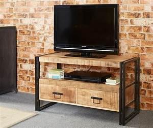 personnalisez votre salon avec le meuble tv industriel With meuble style industriel