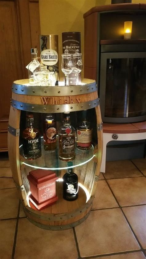 Fass Als Bar Umbauen by Whisky Fassbar Beleuchtet Mit Fernbedienung Ohne