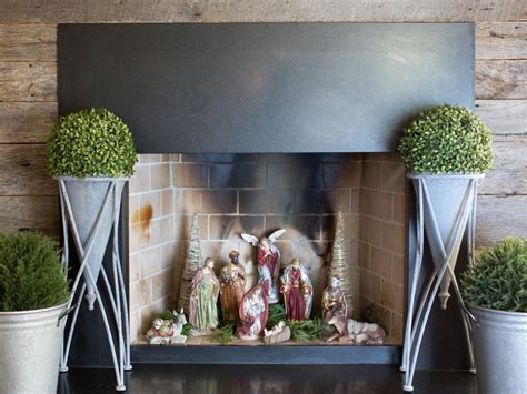 decorate inside fireplace 8 clever ways to decorate a fireplace hgtv