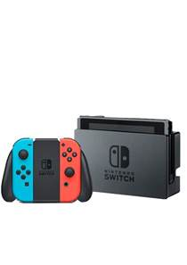 Neon Nintendo Console Switch