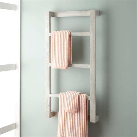 teak shower wulan teak hanging towel rack bathroom