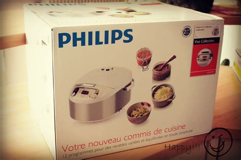 machine à cuisiner multicuiseur philips viva collection et en bonus la