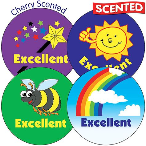 Scented Cherry Stickers  Excellent  35 Stickers 37mm