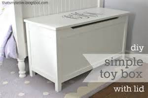 ana white simple modern toy box with lid diy projects