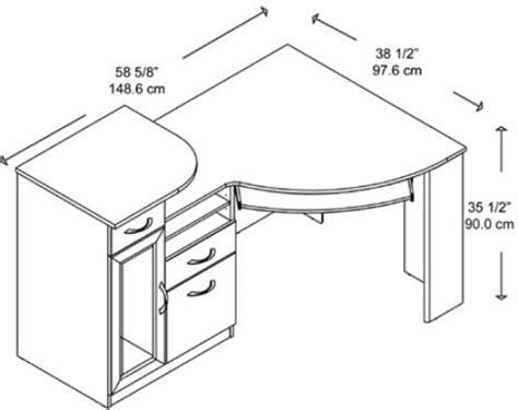 Borgsj Corner Desk Size by Error