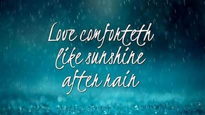 Rain Quotes Sunshine Wallpapers Rainy Rainbow Laptop