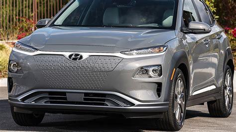 Hyundai Kona Electric 2020 2020 hyundai kona electric interior exterior drive