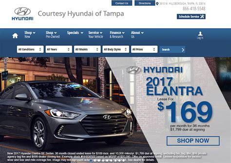 car dealership website designs