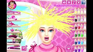 Barbie Dress Up Makeup And Hair Salon Games Online