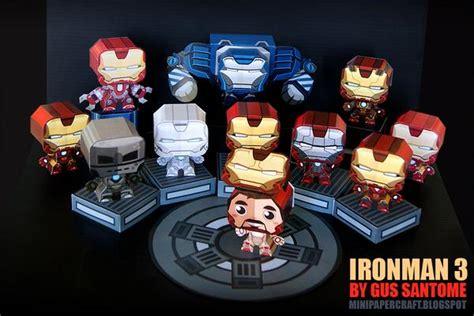 iron man  mini paper crafts gadgetsin