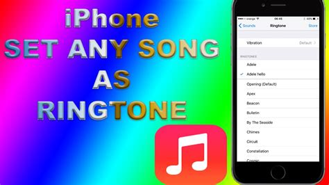 how to put a ringtone on iphone how to set any iphone song as ringtone no itunes no pc no