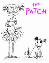 Coloring Patch Eye Teachervision Printable Students Young Fun Story sketch template
