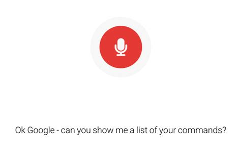 Here's A List Of Everything You Can Ask Google's Voice