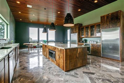 23 Reclaimed Wood Kitchen Islands (Pictures)   Designing Idea