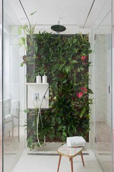 living wall   bathroom decor ideas shower plant