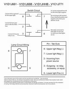 Top 5 Pin Lighted Rocker Switch Wiring Diagram How To Wire