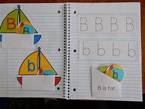 Living worldsapart letter b interactive notebook pages for Alphabet letter notebook