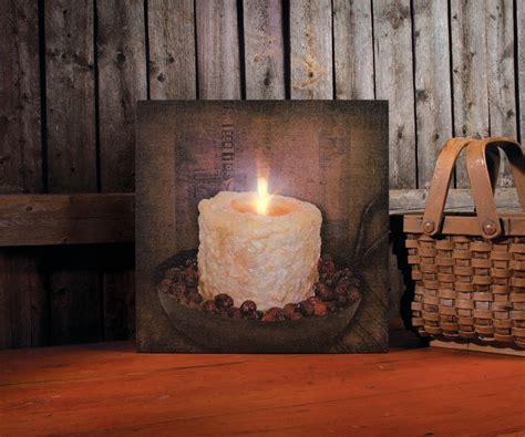 Flickering Light Canvas by Mermaid With Flickering Light Radiance Lighted Canvas Wall