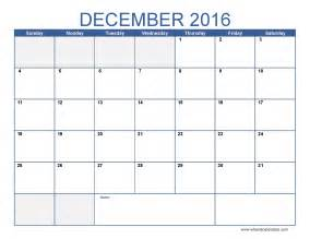 december 2016 calendar with us holidays ussui the knowledge forest