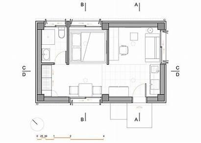 Sqm Apartment Plan Floor Interior Apartments Plans