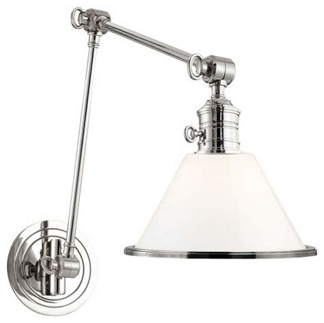 garden city wall sconce clear large traditional swing arm wall ls by hedgeapple