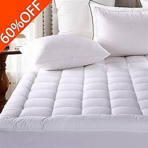 mattress pad cover queen size pillowtop 300tc down With down alternative pillow top mattress pad