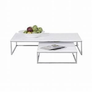 Table Basse Longue : table basse longue table salle manger design pas cher ~ Teatrodelosmanantiales.com Idées de Décoration