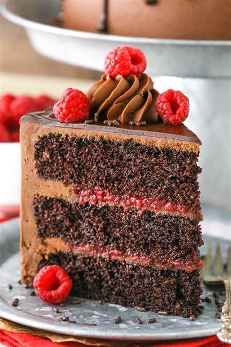 raspberry chocolate layer cake chocolate cake ganache