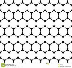 Vector Modern Seamless Geometry Pattern Circles, Black And ...