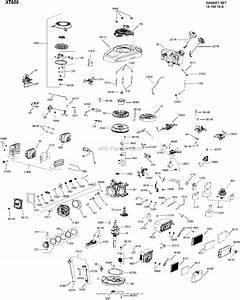 Kohler Xt650 One Page Model Composite Parts Diagram For Engine