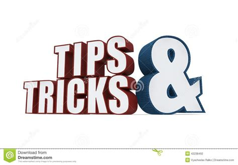 Tipps Tricks by Tips And Tricks Icon On A White Background Stock