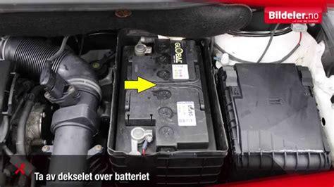 hvordan lade  bilbatteri youtube