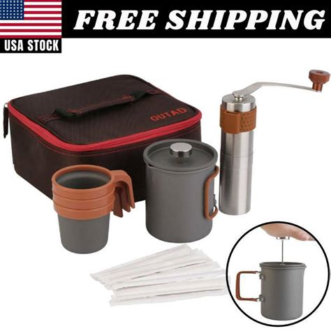 The lido 3 manual grinder has been popular in the specialty coffee community for a while now. French Press Coffee Maker Manual Grinder Set Hand Burr Mill Grinding Machine USA | eBay