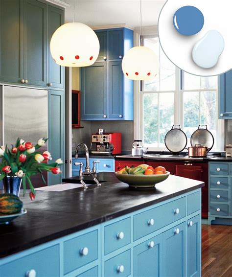 12 Kitchen Cabinet Color Combos That Really Cook  This