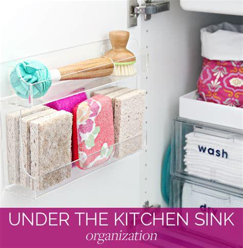 Organizing Under The Kitchen Sink  Iheart Organizing
