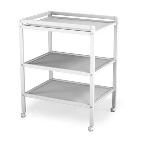 chambre et table d h e at4 table à langer blanc 2 étagères blanc achat vente