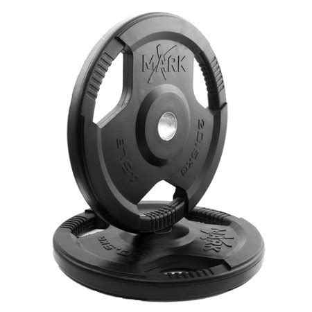 lbs tri grip olympic plate weight set   walmartcom