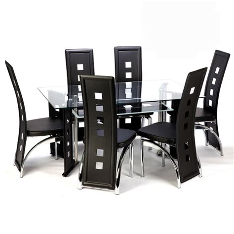 glass or wood whats your choice in dining furniture