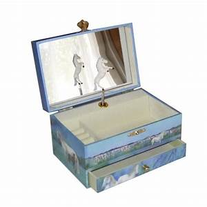 Boite A Bijoux Enfant : boite bijoux musicale chevaux camarguais de trousselier cavacado ~ Teatrodelosmanantiales.com Idées de Décoration