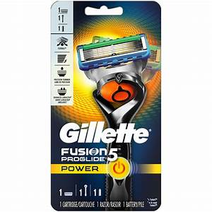 Gillette Fusion5 Proglide Power Men U0026 39 S Razor  Handle  U0026 1