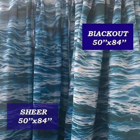 high palm window curtain blackout curtain sheer curtain