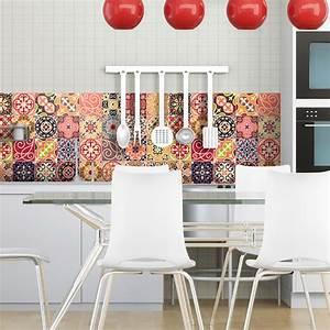 Stickers Carreaux De Ciment : 30 stickers carreaux de ciment la valette salle de bain ~ Melissatoandfro.com Idées de Décoration