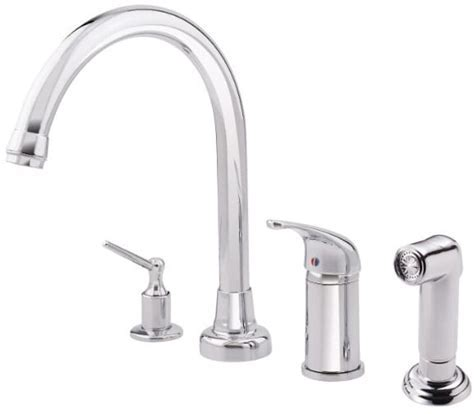 Danze® D409012 Single Lever Cast Spout Kitchen Faucet with