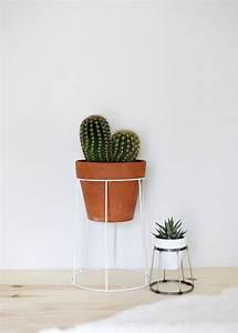 12 idées de supports pour mettre vos plantes d'intérieur
