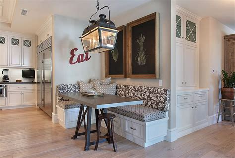 space savvy banquettes  built  storage