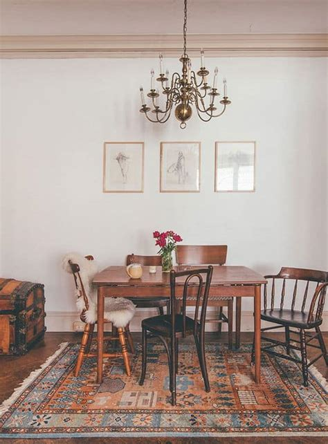 spectacularly inspiring mismatched dining chairs