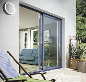 baie vitree alu baie coulissante alu devis en ligne prix With porte de garage coulissante avec portes fenetres pvc renovation