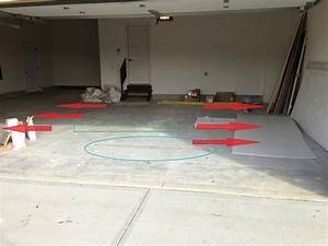 Garage floor doesn39t slope to drain on new construction for Garage floor slope to drain